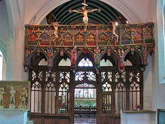 Le Faouët : intérieur de l'église Saint-Fiacre