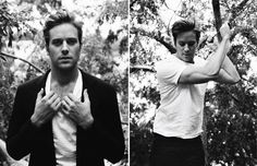 Armie. Painfully handsome.