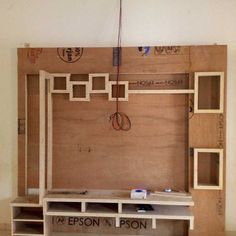 Thing to start on tomorrow. Wall Unit Designs, Living Room Tv Unit Designs, Bedroom Cupboard Designs, Tv Unit Interior Design, Tv Unit Furniture Design, Tv Unit Decor, Tv Wall Decor, Decor Room, Bedroom Decor