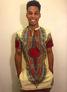 Hey, I found this really awesome Etsy listing at https://www.etsy.com/listing/253217532/beigered-dashiki-top