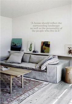 poliform airport sofa: Paola Navone