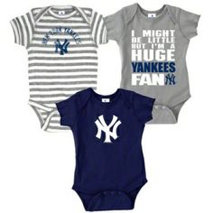 Prepare for baseball season with onesies for popular sports teams in your area.