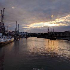 #Bristol with #nofilter.  @arnolfini #arnolfini  #sunset