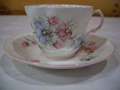 Queens by Rosini Fine Bone China Tea Cup and Saucer