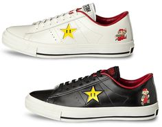 new concept 8cd14 8d942 Limited Edition Converse One s Vs Super Mario Bros Super Mario Bros,  Converse One Star,
