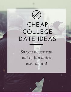 Dating someone summer before college