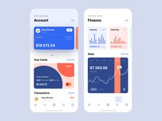 Mobile banking app design is crucial for modern financial institutions. Read on to discover 10 inspiring UI patterns from the best banking apps on the market. Web Design, App Ui Design, User Interface Design, Wordpress, Mobile Ui Design, Ui Design Inspiration, Design Ideas, Daily Ui, Branding