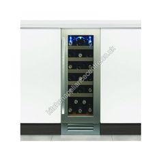Caple 30cm WI3117 Under Counter Wine Cooler Stainless Steel | Kitchen Appliance Centre