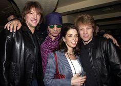 Richie Sambora, Little Steven (E-Street Band & Sopranos), Annabella Sciorra, and Jon Bon Jovi