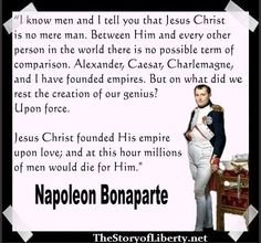 Napoleon Bonaparte  The life and repentance of Bonaparte