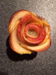 Apple rosé cupcake