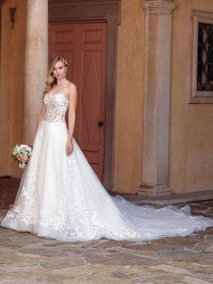 Casablanca Bridal 2311 Tegan, The White Rose Bridal & Formal Wear 614179 Bridal And Formal, Bridal Wedding Dresses, Bridal Style, Casablanca, Jasmine Bridal, Princess Bridal, Black Party Dresses, Estilo Boho, Ball Gowns