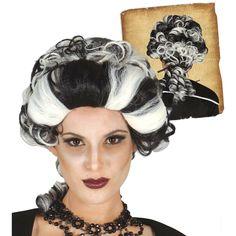 Peluca de Vampiresa Marquesa #pelucasdisfraz #accesoriosdisfraz #accesoriosphotocall