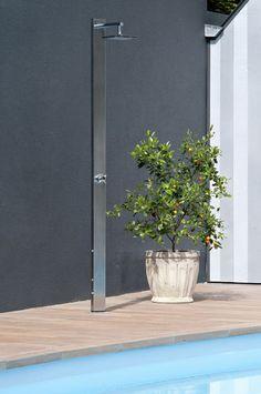 Stainless steel shower / garden SQUARE D'UN JARDIN A L'AUTRE