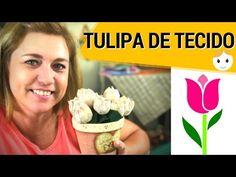 COMO FAZER TULIPA DE TECIDO SEM MÁQUINA DE COSTURA?! | DIY | DRICA TV | SEGUNDAS E QUINTAS - YouTube