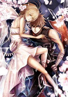 Syaoran and Sakura - Tsubasa Reservoir Chronicle; So sweet!!!
