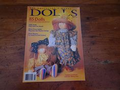 Tootsie Carmichael  Sibling Soul Dolls August 1995 by ClearlyRustic on Etsy