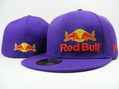 Red Bull Fitted Hats 024