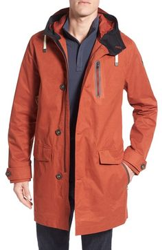 Victorinox Swiss Army® 'Studio' Hooded Water Repellent Parka