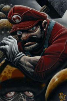 Mario by: gamerank FB