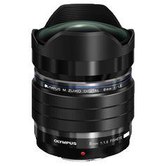 Olympus M.ZUIKO Digital ED 8mm f/1.8 Fisheye PRO Lens @ 15 % Off. Order Now Stock Limited!!!