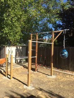 DIY backyard workout ideas