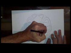 Tutorial filete porteño. La hoja de acanto - YouTube Stencil, Wall Art, Videos, Youtube, Model, Flower, Acanthus, Hand Art, Steaks