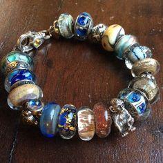 Beautiful bracelet with several True Beadz! Thank you so much for sharing! // Волшебный браслет с несколькими бусинами True Beadz! Спасибо за фото! #truebeadz