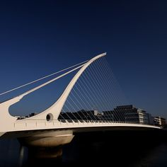 'Samuel Beckett Bridge' by Paul Kane Samuel Beckett Bridge, Dublin Ireland, Innovation, My Photos, Building, Travel, Viajes, Buildings, Destinations