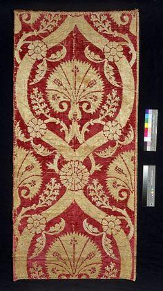 Furnishing fabric      Place of origin:      Turkey (made)     Date:      16th century (made)
