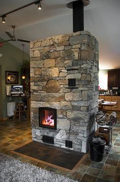 Masonry Heaters and Brick Ovens - Maine Masonry Craft Modern Fireplace, Fireplace Design, Fireplace Mantels, Fireplaces, Masonry Oven, Stone Masonry, Barn Door Hinges, High Ceiling Living Room, Wood Fired Oven