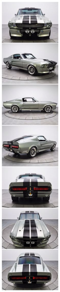 Movie: Gone In 60 Seconds   The Car: 1967 Shelby Mustang GT 500 - Her name is Eleanor.