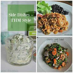 Side Dishes ~ Trim Healthy Mama Style