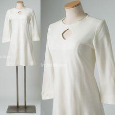 Mod Dress Vintage Dress mod 60s dress by TrendyHipBuysVintage