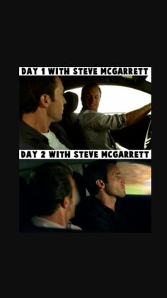 Hawaii Five-O season 1 Danny (To Steve)- Why are you always driving my car?
