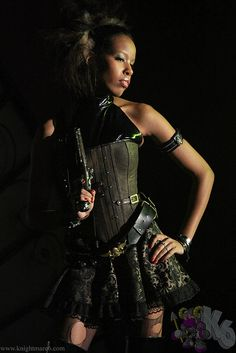 The Anachronism Steampunk Event Fashion Show by knightmare6, via Flickr
