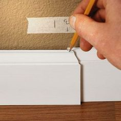 How-to Install Baseboard Trim