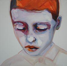 Saatchi Online Artist: Patricia Derks; Oil, 2013, Painting Orange Boy