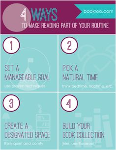 Do you want to read with your kids, but can't seem to find time?  Here are 4 ways to get it into your daily routine! #read #readingwithkids #bookroo   www.weliketolearnaswego.com