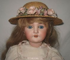 "Antique Armand Marseille 24"" Bisque Socket Head Queen Louise Doll     MR77"