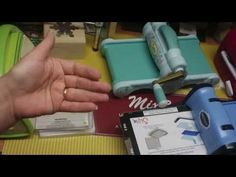 Uso da Maquina Sizzix Big Shot Novo Modelo - Diversos projetos e dicas - YouTube