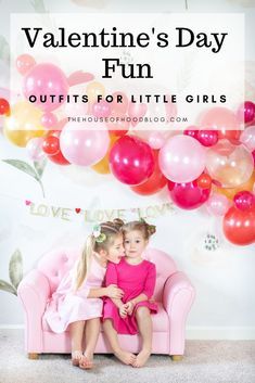 Bright and Fun Valentine's Day Outfit Ideas for Toddler Girls! I'm sharing two fun styled photo shoots I put together with balloon garlands, tutus, and twirl dresses! I'm sharing links to everything in the post. Toddler Girl Style, Toddler Girl Outfits, Toddler Girls, Toddler Fashion, Girl Fashion, Valentine's Day Outfit, Outfit Of The Day, Outfit Ideas, Valentines Day Decorations