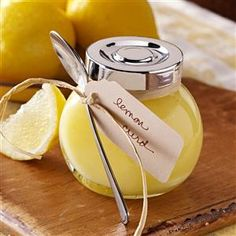 """Zesty Lemon Curd Recipe -There are lemon trees in our backyard, so I'm always on the prowl for new ways to use the fruit. When we shared some of our homegrown citrus with neighbors—Canadians who were spending the winter here—the wife """"repaid"""" us by giving us this recipe! The curd keeps well, and it can be used for any meal. My husband likes it on waffles and toast for breakfast, but it's also a great dessert topping on plain cake or ice cream. —Jean Gaines, Bullhead City, Arizona"""