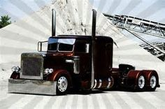 Peterbilt Show Truck Big Rig Trucks, Show Trucks, Peterbilt 359, Peterbilt Trucks, Custom Big Rigs, Custom Trucks, Heavy Machinery, Heavy Truck, Diesel Trucks