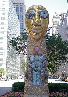 NYC ♥ NYC: Niki de Saint Phalle Sculptures sur Park Avenue