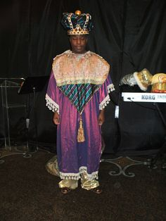 Gold black wise man costume close up christmas costumes costume available for wise man in christmas production purple gold with green accents solutioingenieria Gallery