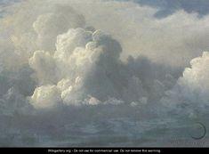 """Storm Clouds 1880 - Albert Bierstadt.""""Je höher wir uns erheben,umso kleiner erscheinen wir denen, welche nicht fliegen können.""""  Friedrich Wilhelm Nietzsche"""