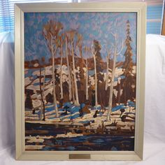 TOM THOMSON 1877-1917 MARCH sampson matthews serigraph group of seven canadian