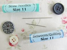 Yesterday I had a few questions about needles so I thought I'd write a post on the subject.    Bra...