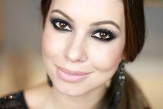 Como Fazer Olho Preto na Maquiagem | Smokey Eyes